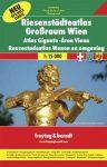Bécs és környéke óriásatlasz - f&b PL 10SP