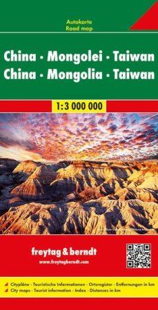 Kína és Mongólia autótérkép - f&b AK 127