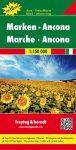 No 9. - Marche - Ancona Top 10 Tipp autótérkép - f&b