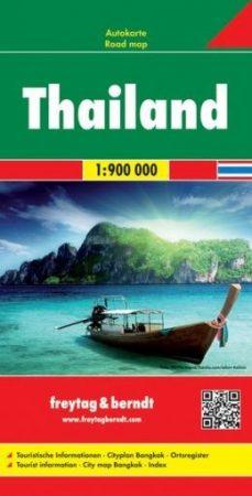 Thaiföld autótérkép - f&b AK 184