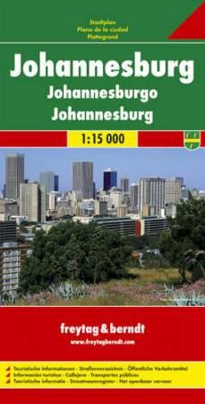 Johannesburg várostérkép - f&b PL 501