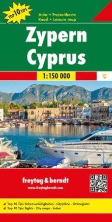 Ciprus autótérkép - f&b AK 3101
