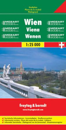 Bécs teljes várostérkép - f&b PL 2