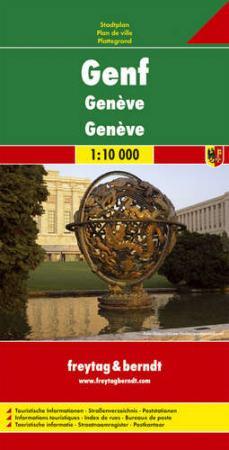Genf várostérkép - f&b PL 114