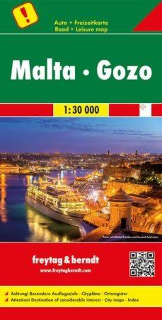Málta és Gozo autótérkép - f&b AK 9305