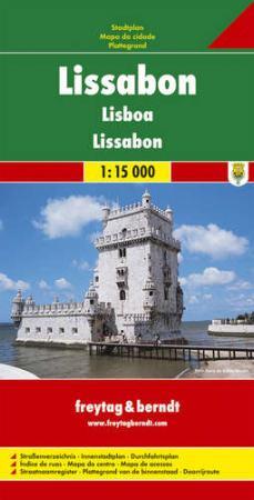 Lisszabon várostérkép - f&b PL 89