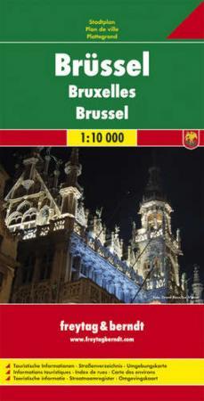 Brüsszel várostérkép - f&b PL 119