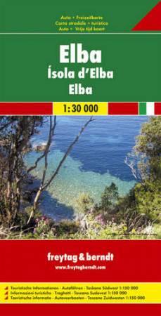 No12. - Elba - Délnyugat-Toszkána autótérkép - f&b AK 0605