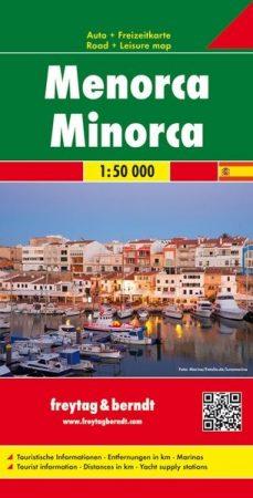 Menorca autótérkép - f&b AK 0509