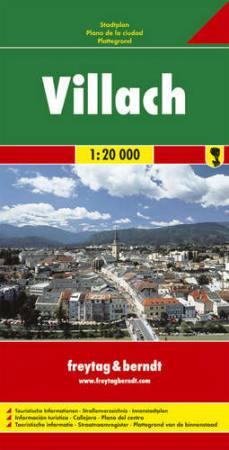 Villach teljes várostérkép - f&b PL 62