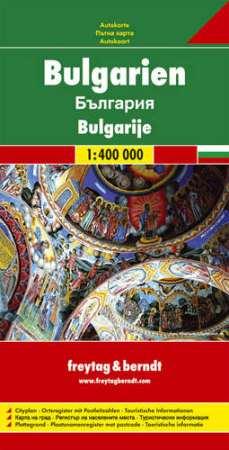 Bulgária autótérkép - f&b AK 0902
