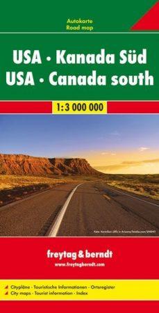 USA - Dél-Kanada autótérkép - f&b AK 116
