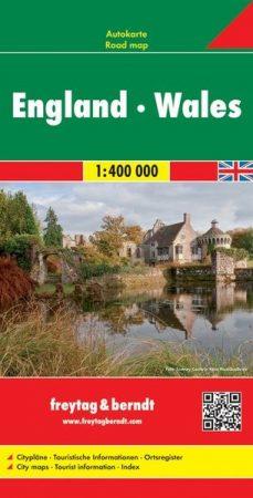 Anglia - Wales autótérkép - f&b AK 0287