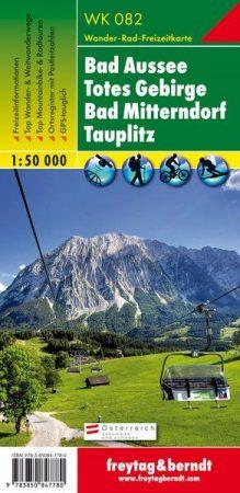 Bad Aussee-Totes Gebirge-Bad Mitterndorf-Tauplitz turistatérkép - f&b WK 082