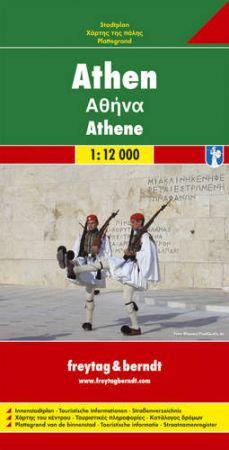 Athén várostérkép - f&b PL 98