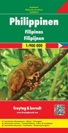 Fülöp-szigetek autótérkép - f&b AK 183
