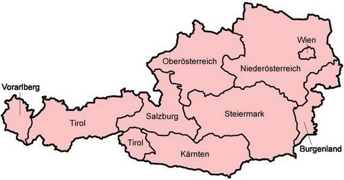 ausztria térkép burgenland Ausztria   Európai térkép   TÉRKÉP   Útikönyv   Térkép   Földgömb ausztria térkép burgenland
