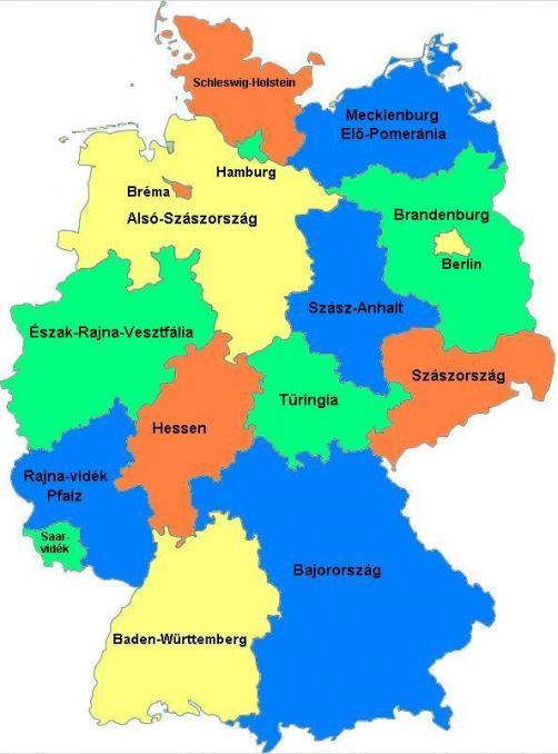 magyarország németország térkép Németország   Európai térkép   TÉRKÉP   Útikönyv   Térkép   Földgömb magyarország németország térkép