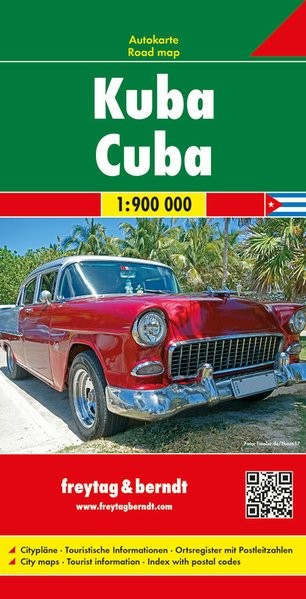 Kuba autótérkép - f&b AK 3501