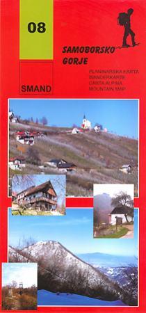 Image of 08 - Samborsko Gorje turistatérkép - Smand