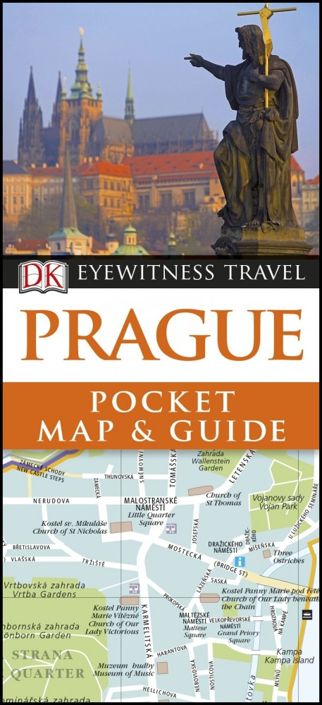 Prague - DK Pocket Map and Guide