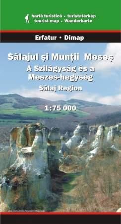 A Szilágyság és a Meszes-hegység turistatérkép - Dimap