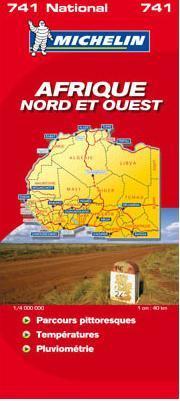 Észak- és Nyugat-Afrika térkép - Michelin 741