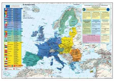 Az Európai Unió térkép könyöklő - Stiefel