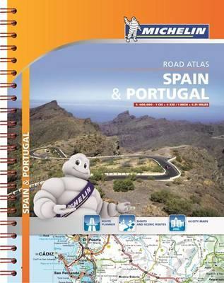 Spanyolország és Portugália atlasz - Michelin