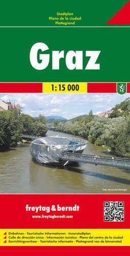 Graz várostérkép - f&b PL 14