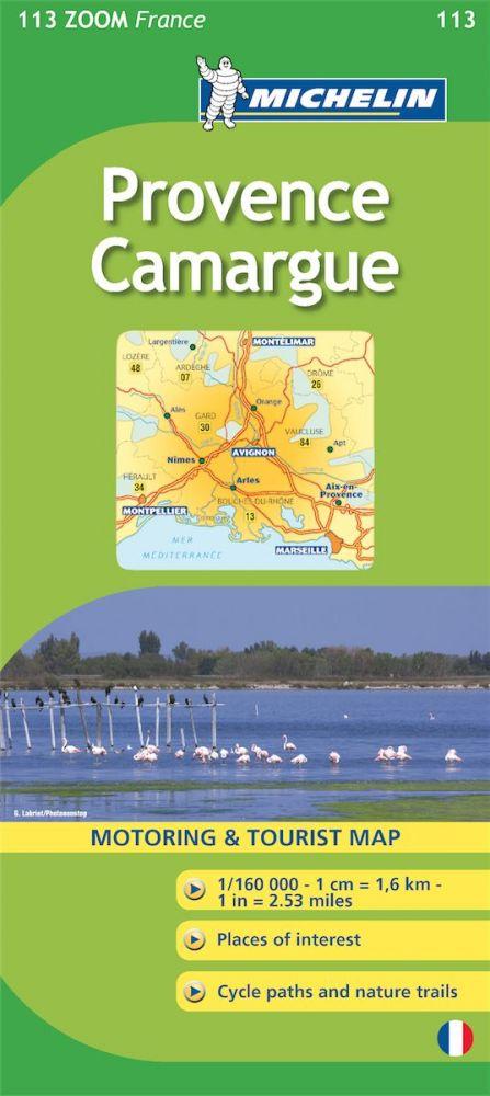 Provence - Camargue térkép - Michelin 113
