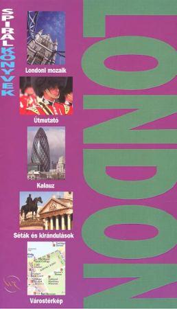 London útikönyv - Spirálkönyv