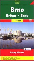 Brno várostérkép - f&b
