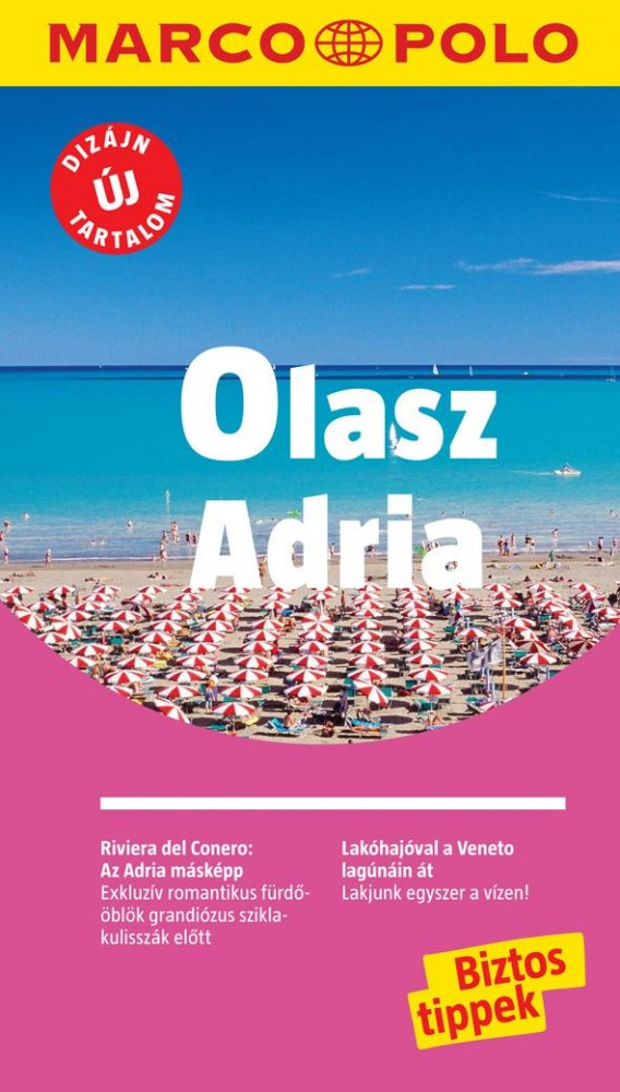 Olasz Adria útikönyv - Marco Polo