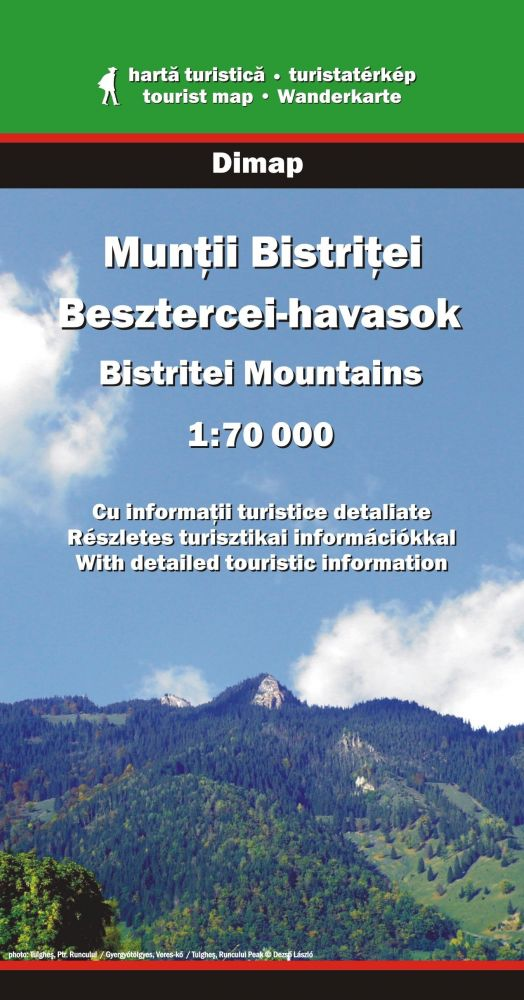 Besztercei-havasok turistatérkép - Dimap