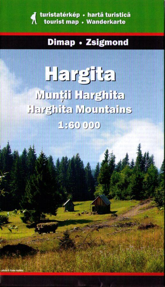 Hargita turistatérkép - Dimap