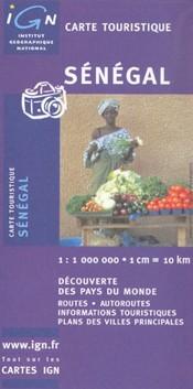 Szenegál térkép - IGN