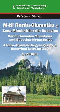 A Ráró-Gyamaló hegységek turistatérkép - Dimap