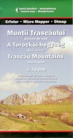 A Torockói-hegység déli része turistatérkép - Dimap
