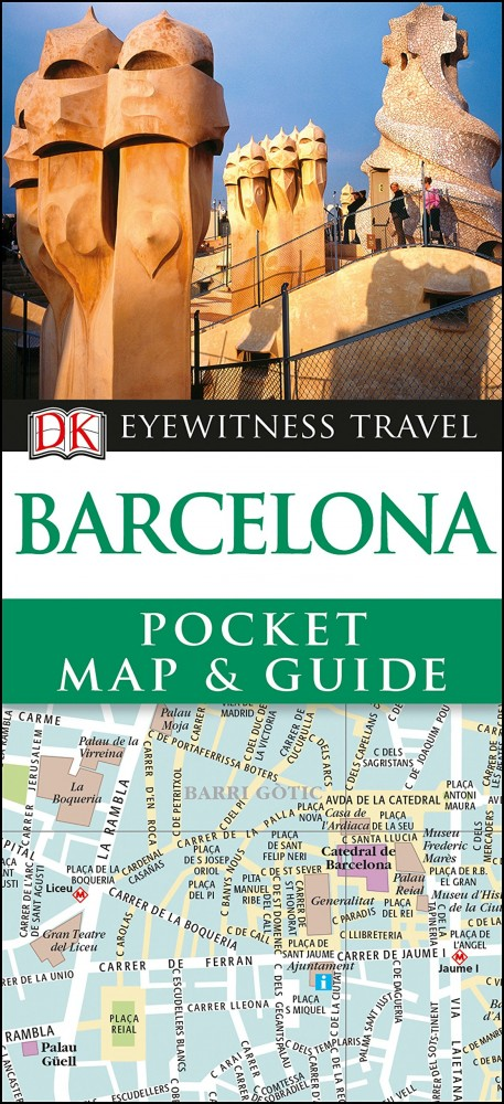 Barcelona - DK Pocket Map and Guide