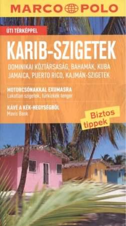 Karib-szigetek útikönyv - Marco Polo