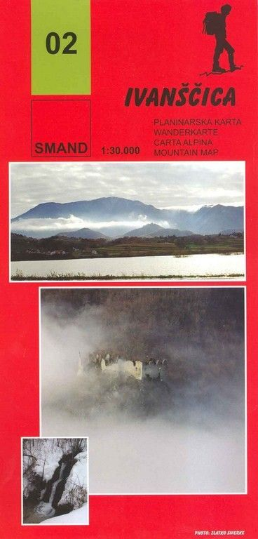 Image of 02 - Ivanscica turistatérkép - Smand