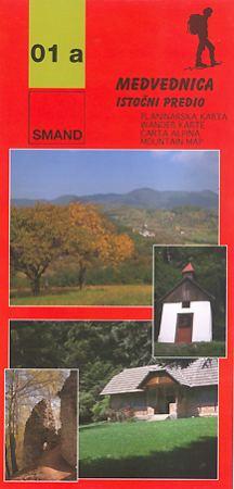 Image of 01a - Medvednica, istočni dio turistatérkép - Smand