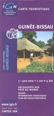Bissau-Guinea térkép - IGN