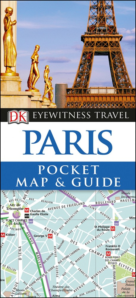 Paris - DK Pocket Map and Guide