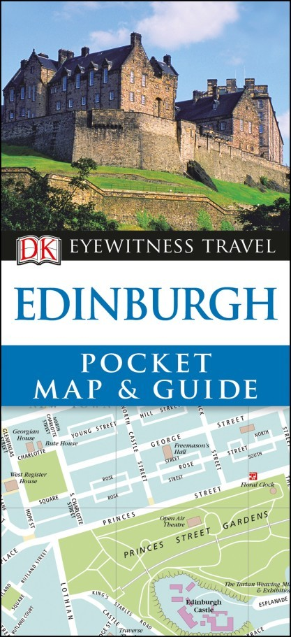 Edinburgh - DK Pocket Map and Guide