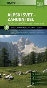 Szlovén-Alpok nyugati része (No 1) - KartoGrafija