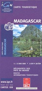 Madagaszkár térkép - IGN