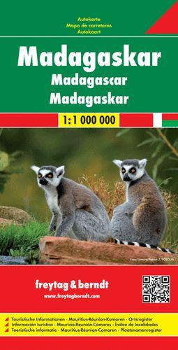 Madagaszkár autótérkép - f&b AK 201