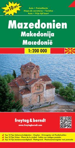 Macedónia autótérkép - f&b AK 0717